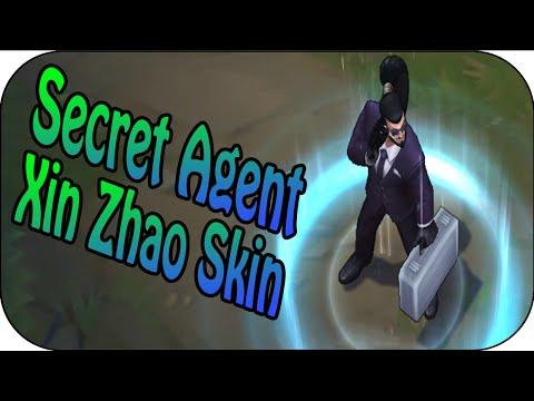 Secret Agent Xin Zhao - Skin Spotlight - Skin Vergleich
