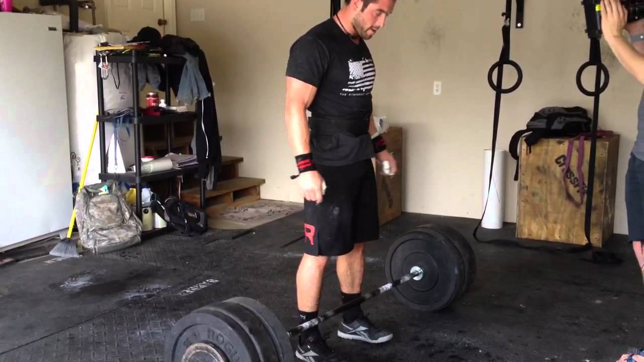 Squat Clean Workout Froning Squat Cleans 275