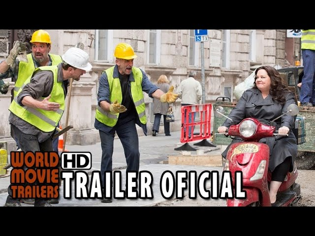 A Espiã Que Sabia de Menos Trailer Oficial #2 Legendado (2015) - Melissa McCarthy HD