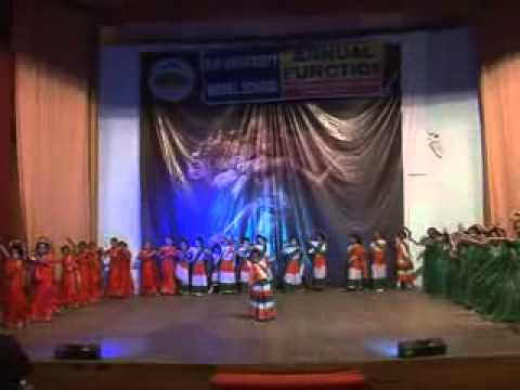 Janha Paon Mei Payal Performed By H P University Model School In Annual Function 2012 video