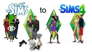 The Sims Trailers - From The Sims 1 to The Sims 4