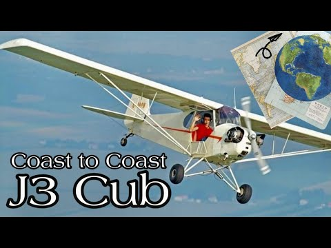 Sam's Flight of Passage (1946 Piper J3 Cub flown across Canada)