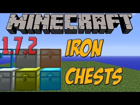 Minecraft 1.7.2 PC Mods: IronChests [Descargar E Instalar] HD