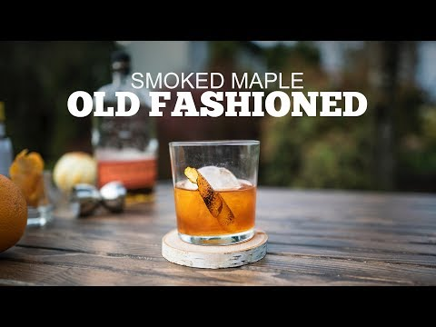 Smoked Maple Old Fashioned