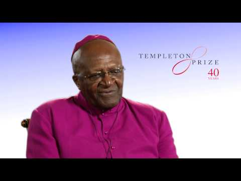 Desmond Tutu on winning the 2013 Templeton Prize