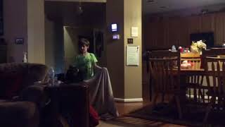 I disappeared! Magic trick