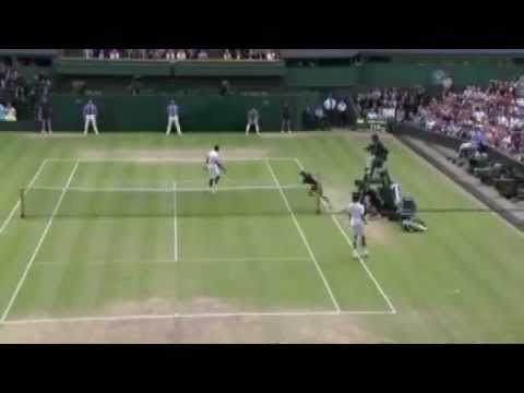 Novak Djokovic vs. Jo-Wilfried Tsonga - SF - Wimbledon 2011