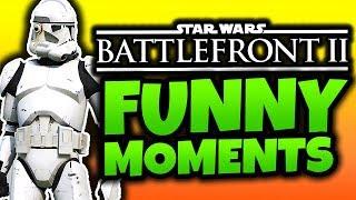 Star Wars Battlefront 2 Beta - Funny Moments! - (SWBF2 2017 Gameplay)