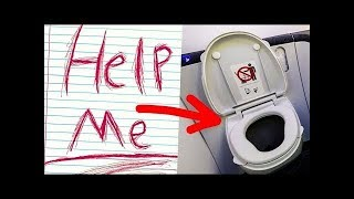 """Flight Attendant Sees """"Help Me"""" Written In Aircraft Toilet, Promptly Urges Pilot To Call The Police"""