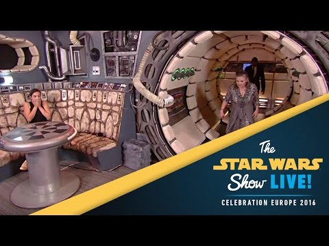 Carrie Fisher Interview | Star Wars Celebration Europe 2016