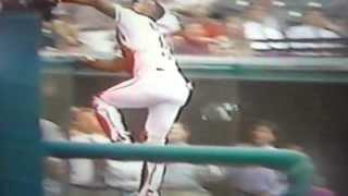 Sandy Alomar, Jr. Amazing Catch! Cleveland Indians