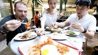 SAMPLING HAWKER FOODS with WAH! BANANA | Singapore