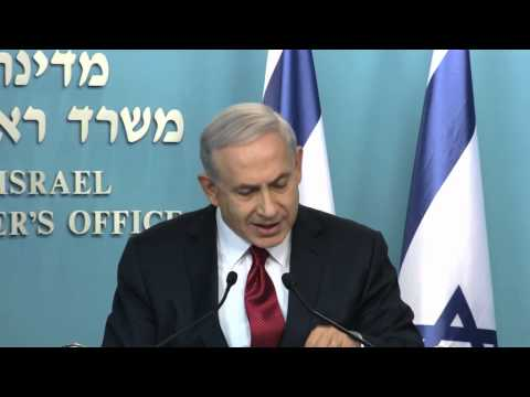 Statement by PM Netanyahu at Press Conference