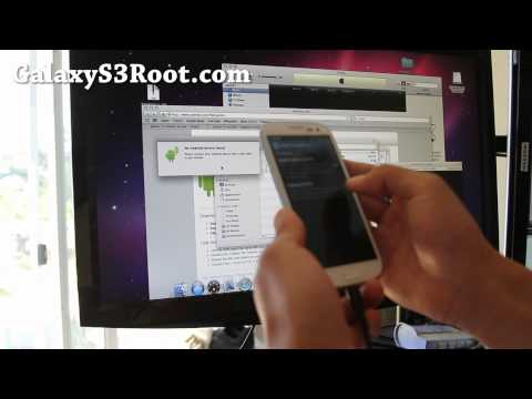 How to Connect Galaxy S3 to Mac OSX as a Disk Drive!
