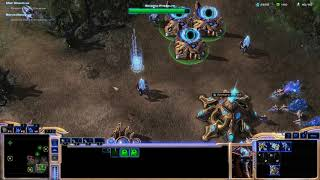 Taking over the Tal'darim Temple  -  StarCraft II Whispers of Oblivion