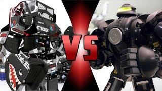 ROBOT DEATH BATTLE! -  ZEUS VS  SUPER ANTHONY V2 (ULTIMATE ROBOT DEATH BATTLE!)