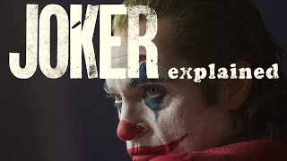 'JOKER' explained. What everyone is missing.