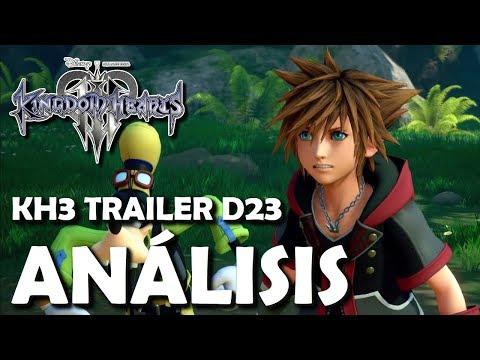 Kingdom Hearts 3 Trailer D23 Japón - Análisis del Gameplay y detalles ocultos (Español)