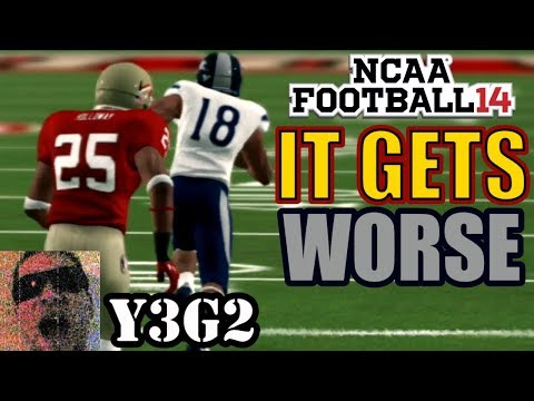 This Game is Getting HARDER! NCAA Football 14 Teambuilder Dynasty