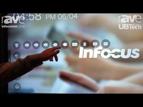 UBTech 2018: InFocus Shows INF 7530 EAG Android-Based Interactive Display