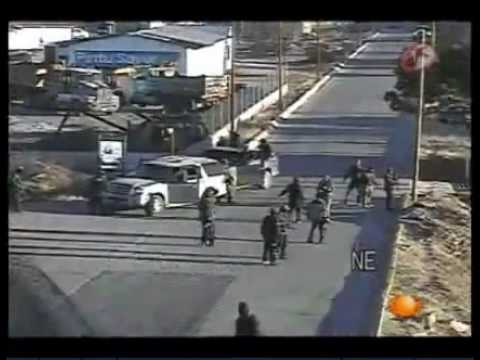 Sicarios mexicanos captados en video « El Solitario George.flv