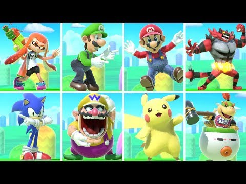 All Character Taunts in Super Smash Bros. Ultimate