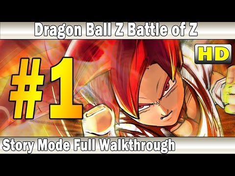 Dragon Ball Z Battle of Z Gameplay Walkthrough Part 1   Story Mode   XBox 360 - PS3