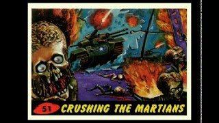 TOPPS 1962 MARS ATTACKS CARDS