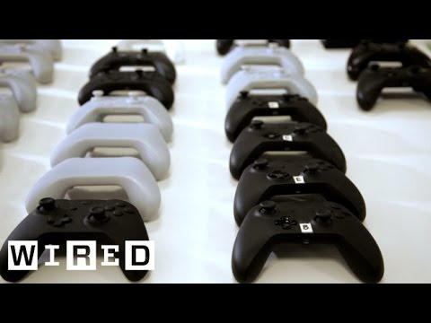 Gaming: New Xbox One -- Design: Exclusive WIRED Video