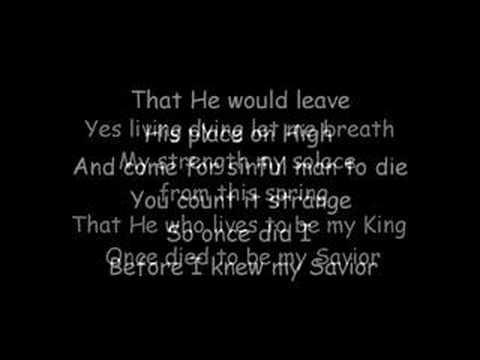 Jesus your my savior lyrics