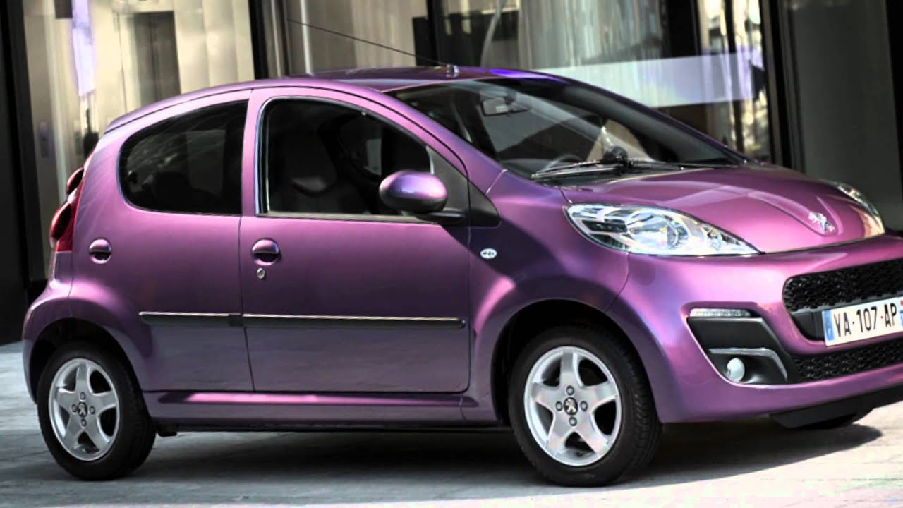Peugeot 107, Toyota aygo, Citroen C1 2012 Preview HD - YouTube