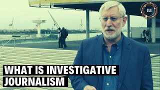What Is Investigative Journalism? - David Kaplan