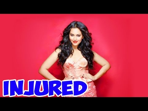 Sonakshi Sinha Shoots For A Songs Inspite Her Leg Injury! Photo,Image,Pics-