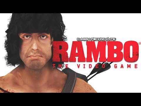 Games I F*cking Hate - Rambo: The Video Game (Worst Game of 2014?)