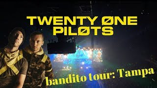 twenty one pilots: banditø tour concert vlog Tampa 11/03/2018