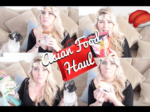 ASIAN Food Haul | American Girl Tries Asian Snacks!