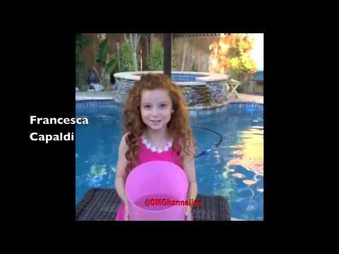 Disney Stars Past & Present ALS Ice Bucket Challenge G Hannelius Zac Efron Selena Gomez Demi Lovato