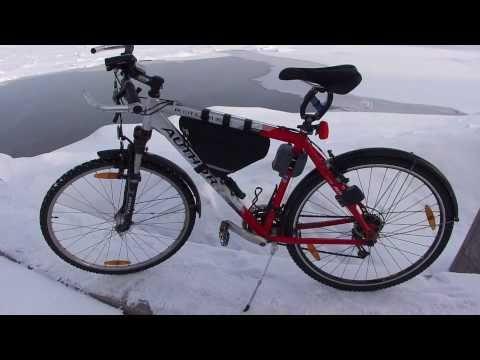 собственно зимний велосипед