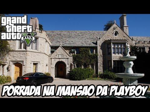 GTA V - PORRADARIA na Mansão da Playboy
