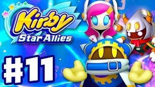 Kirby Star Allies - Gameplay Walkthrough Part 11 - Magalor, Taranza, and Susie!