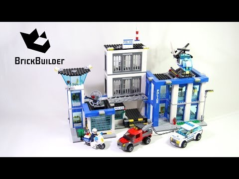 Lego City 60047 Police Station build and review