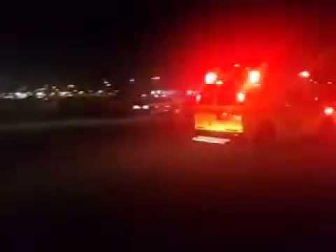 Magen David Adom - Feb. 11, 2014 20:21 emergency landing at Ben Gurion International Airport