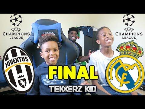 Juventus Vs Real Madrid Champions League Final | Tekkerz Kid
