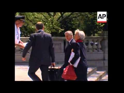 G7 Finance minister begin summit