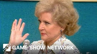 """Betty White's """"Twist of the Wrist""""   Match Game   Game Show Network"""