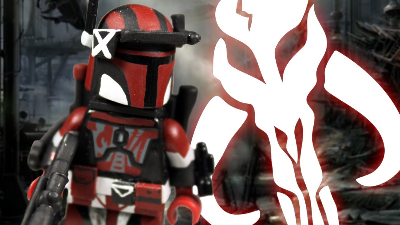Custom Lego Star Wars Mandalorian Youtube