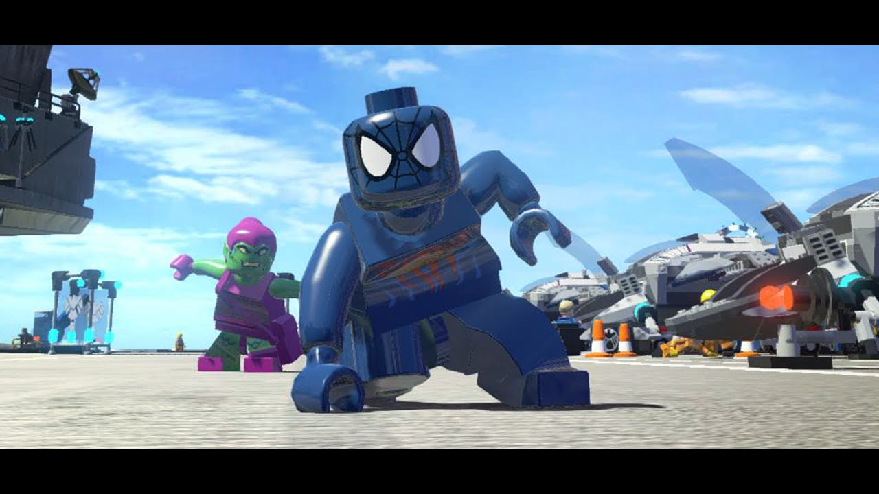 Spider-Man 2099 - LEGO Marvel Superheroes Mod - YouTube