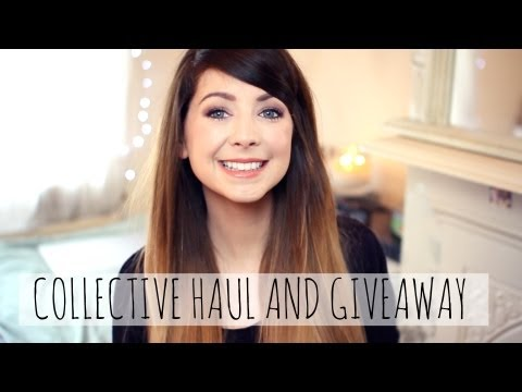 Huge Collective Haul & Giveaway   Zoella