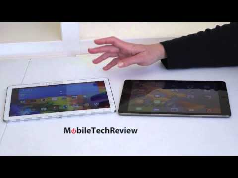 Samsung Galaxy Tab Pro 10.1 and Apple iPad Air Comparison Smackdown