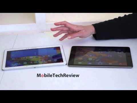 Samsung Galaxy Tab Pro 10.1 and Apple iPad Air Comparison Smackdown